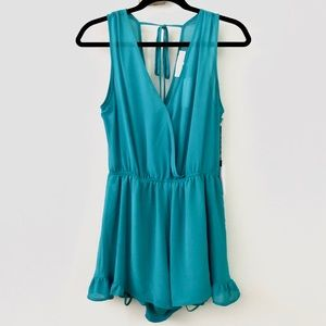 ASTR the Label Sleeveless Romper NWT